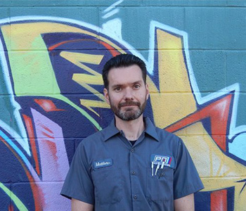 Matthew Erwin - Service Manager | Pacific Motorsports